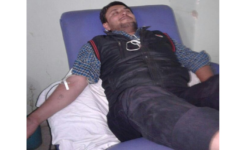 Donating The Blood In IGIMS Patna