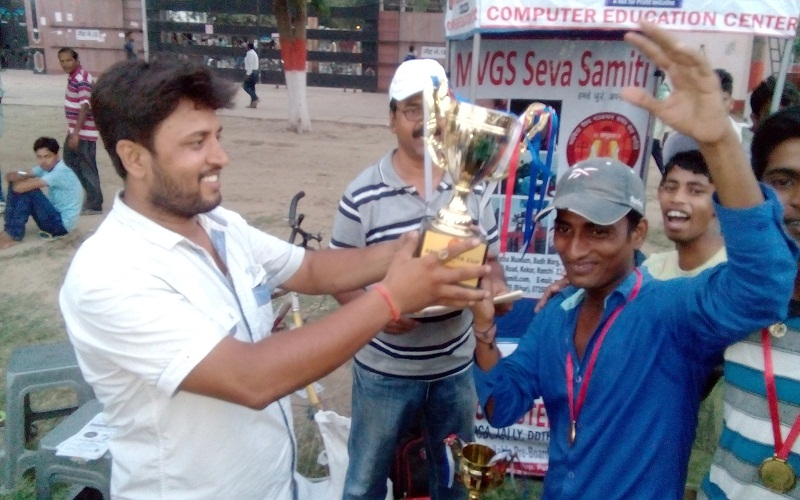 Abhyudaya Cup Cricket Tournament with Patna Centre Student Group.